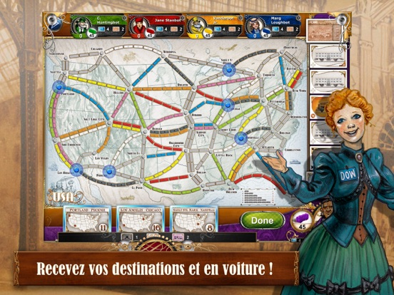 Screenshot #6 pour Ticket to Ride