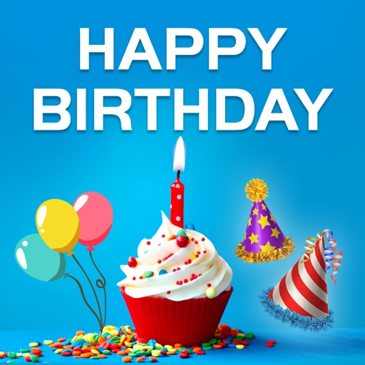 Birthday Wishes Cards App Logo