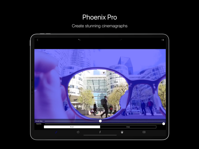 ‎Phoenix: Cinemagraph Editor Screenshot