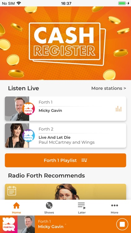 Radio Forth screenshot-0