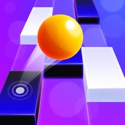 Piano Ball: Run On Music Tiles