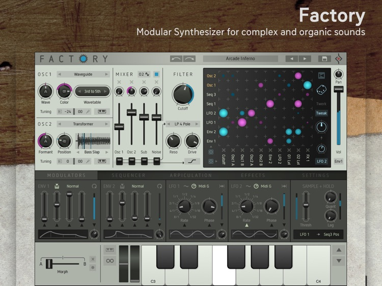 Factory - Modular Synthesizer