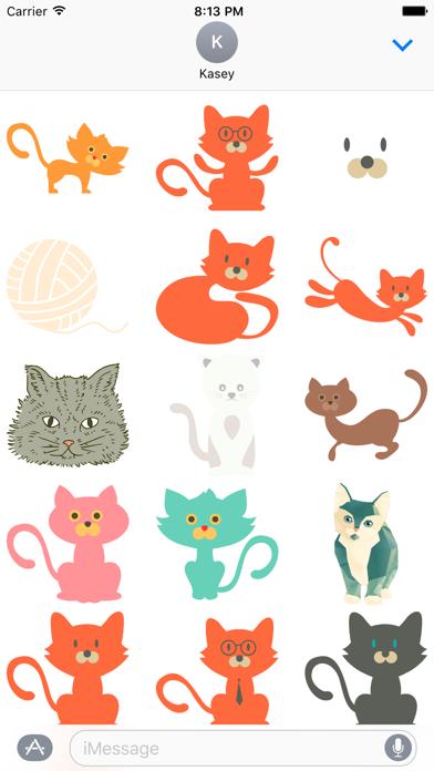 Cat Sticker Pack screenshot one