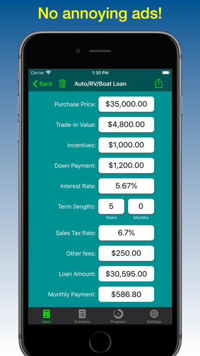 Loan Calculator - Loan2Me screenshot four