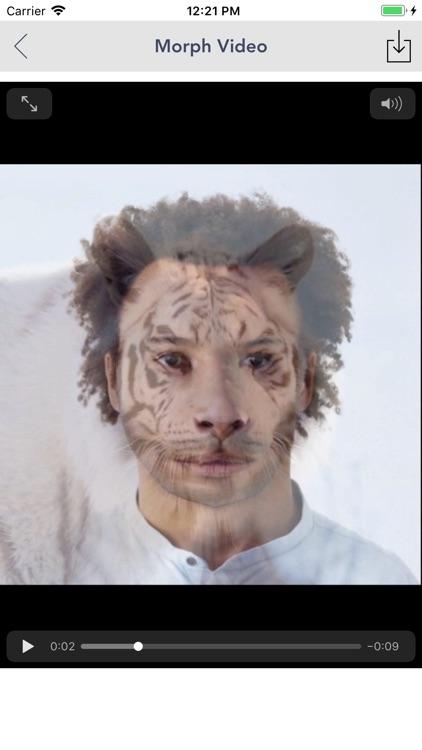 Morph Video - Face Swap live screenshot-3