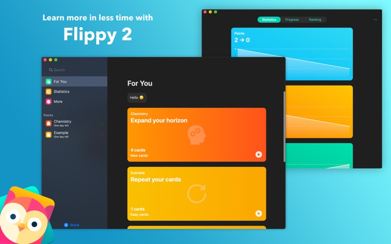 Flippy 2 - Smart Flashcards for Mac