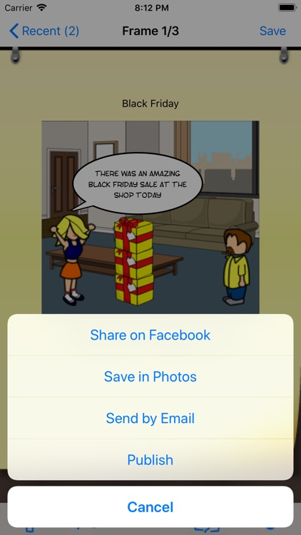 Comic & Meme Creator screenshot-3
