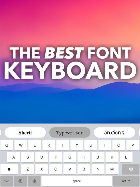 Fonts - Font & Symbol Keyboard screenshot 6