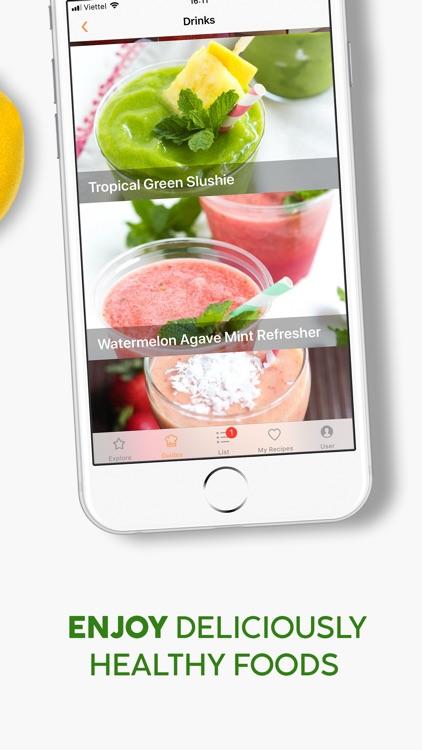 Healthy Food Meal Prep Planner screenshot-5