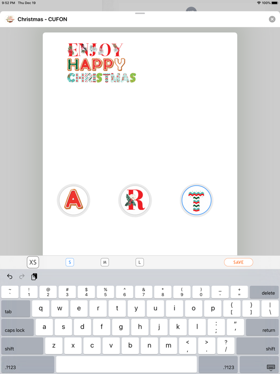 Merry Christmas - Custom Font screenshot 7