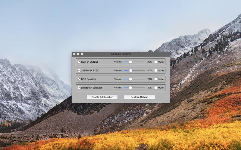 All Audio Speaker for Mac
