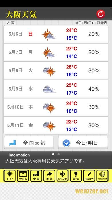 阪神天気のおすすめ画像2