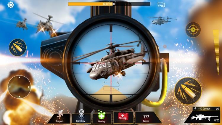 Sniper 3D: Bullet Strike PvP screenshot-0