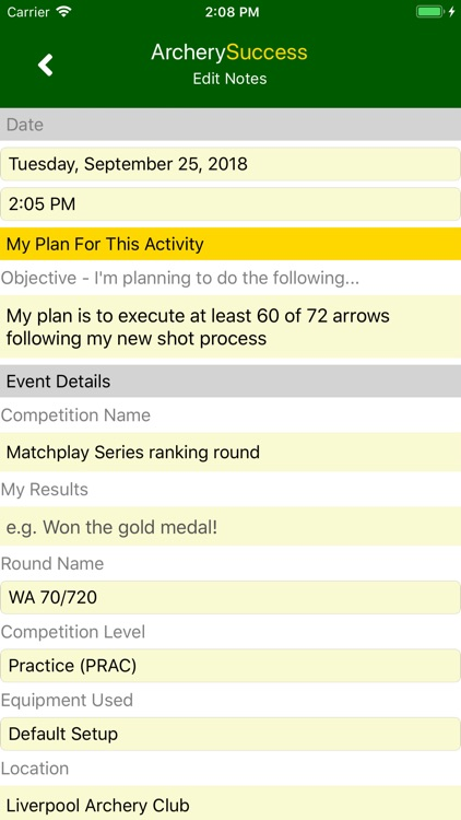 ArcherySuccess - Score & Plot screenshot-9