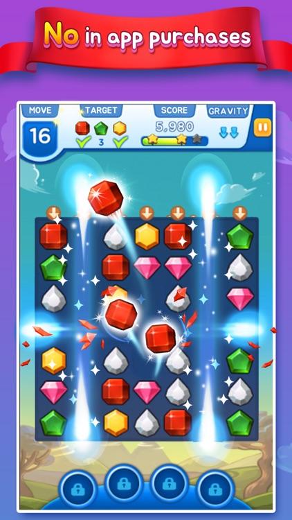 Pin-up Match 3 Puzzle Game screenshot-3