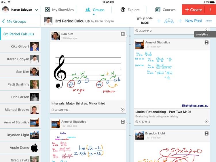 ShowMe Interactive Whiteboard screenshot-4