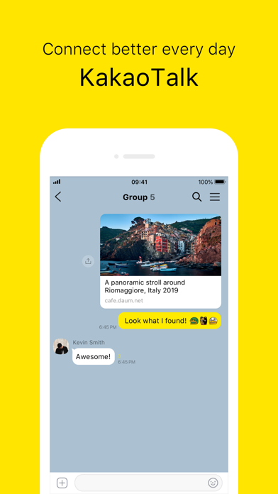 KakaoTalk Screenshots