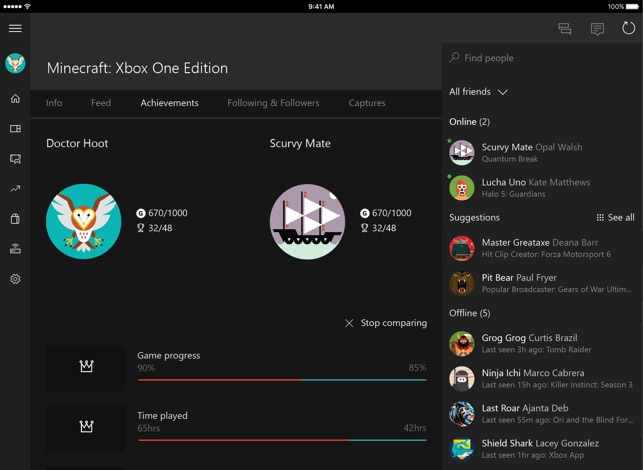 Xbox on the App Store