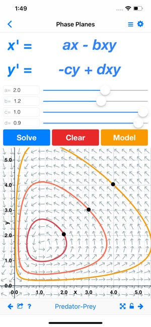 Slopes: Differential Equations on the App Store