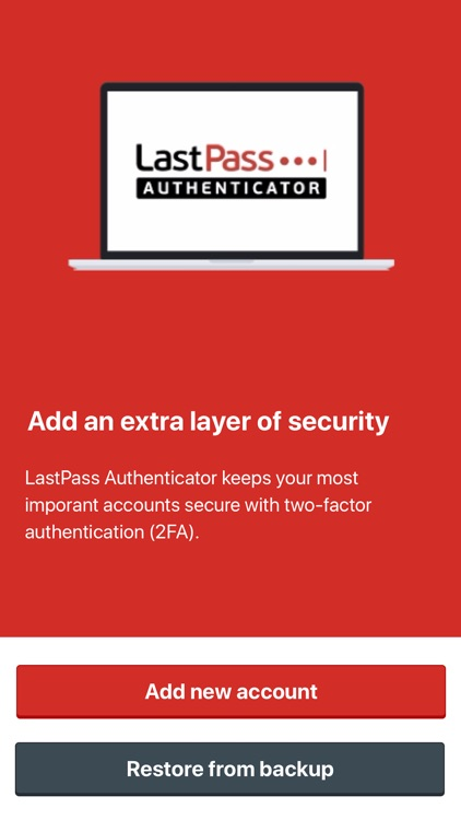 LastPass Authenticator screenshot-0