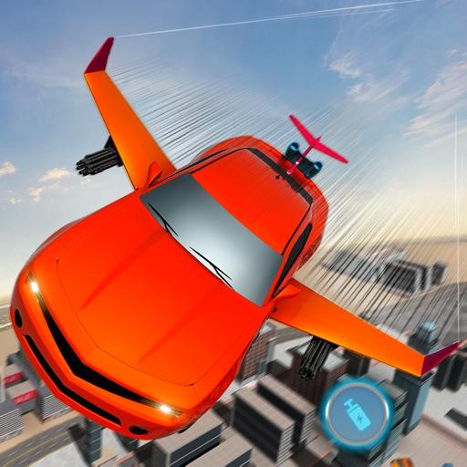 Sky Car Future Drive City