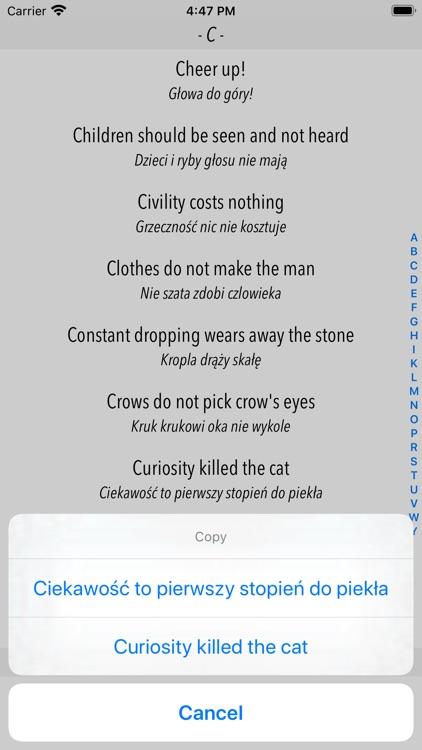 Dictionary of Proverbs screenshot-3