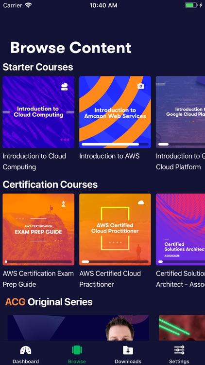 A Cloud Guru screenshot-3
