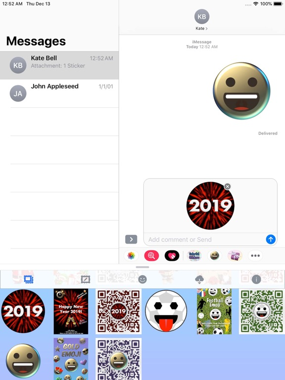 Colorful Stickers and Emoji screenshot 16