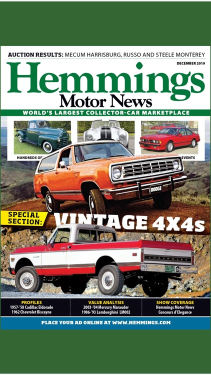 Hemmings Motor News screenshot-1