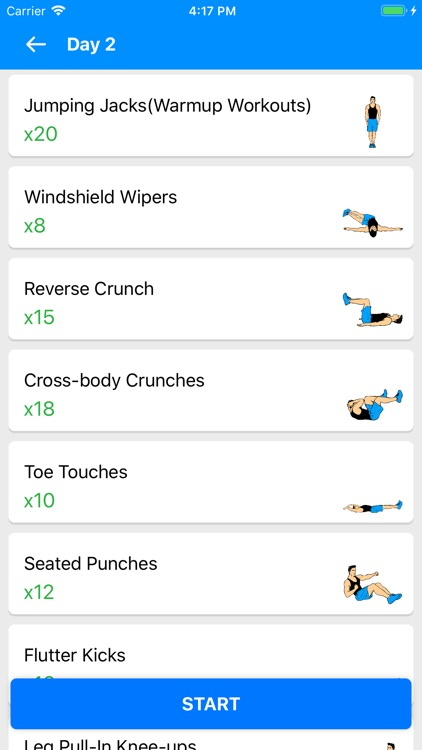 Six Pack in 30 Days -With Diet screenshot-4