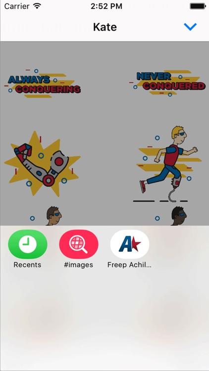 Achilles Marathon Sticker Pack screenshot-5