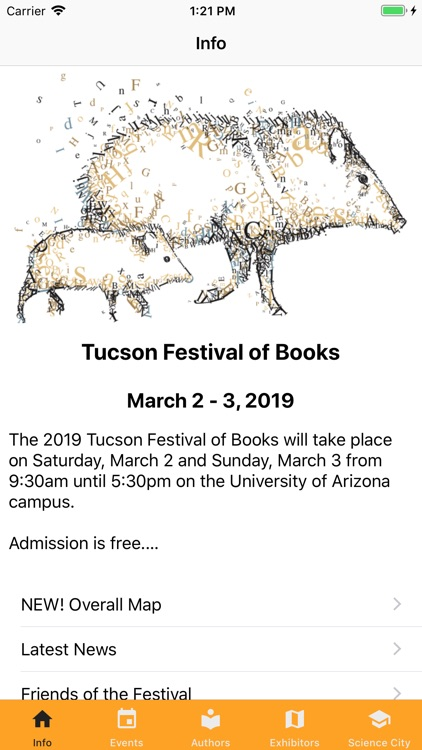 Tucson Festival of Books screenshot-0