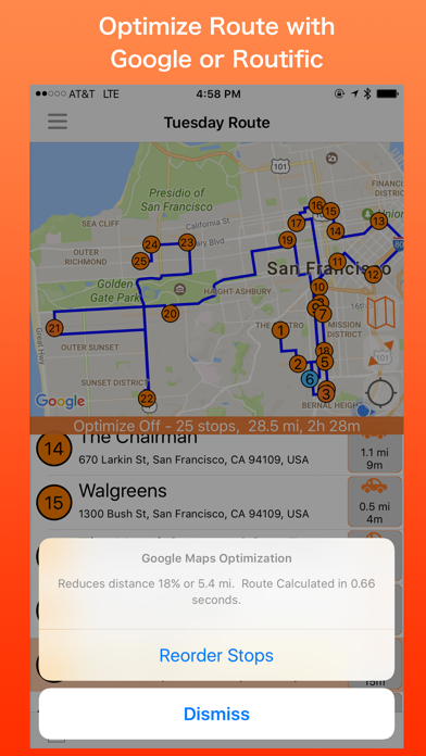 PlaceMaker Route Planner Screenshot