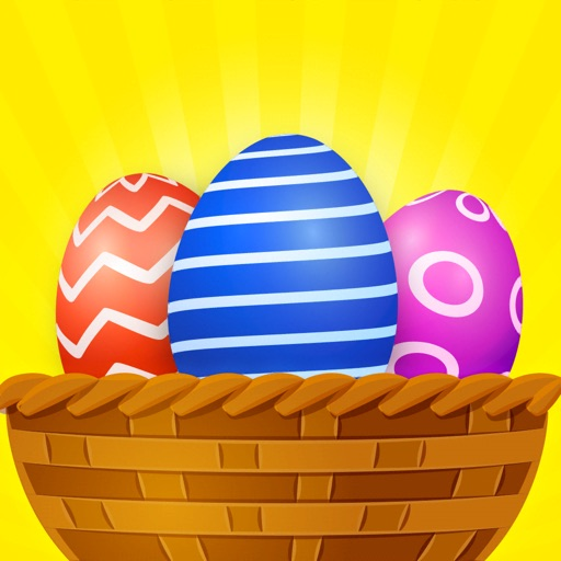 Easter Eggs 3D icon