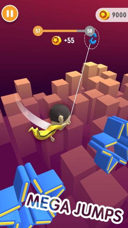 Swing Hero - Leap And Glide 3D