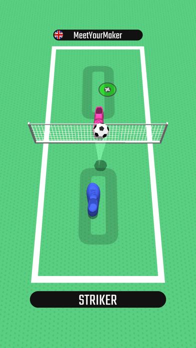 Foot Tennis 3D screenshot 2