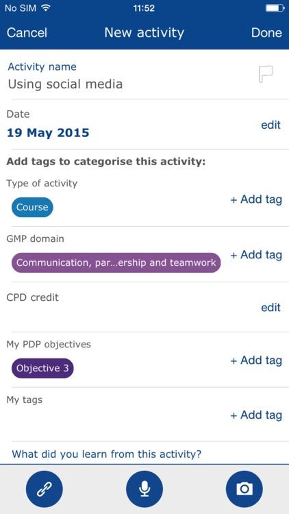 GMC My CPD screenshot-3