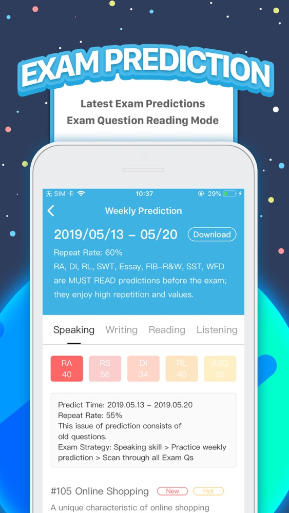 PTE Exam Practice - APEUni App for iPhone - Free Download PTE Exam