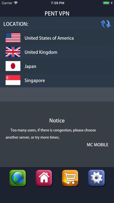 VPN PenT - Super VPN Touch vpn for Windows