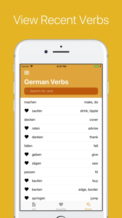 German Verb Conjugator screenshot-4