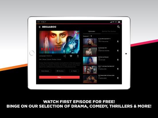 ALTBalaji – Original Webseries - Revenue & Download estimates
