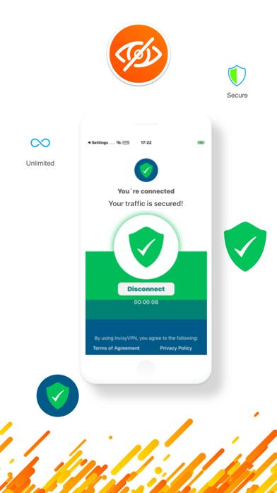 Invisy VPN Best WiFI VPN Proxy Screenshot