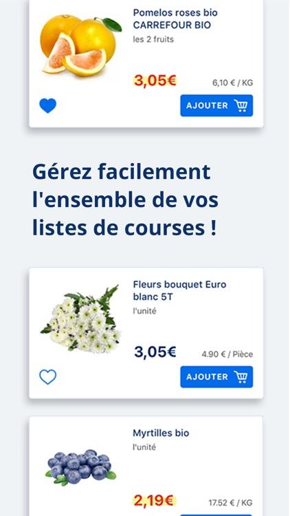 Carrefour : courses & fidélité screenshot-4