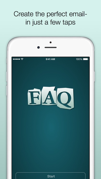 FAQ- Email Composer screenshot-0