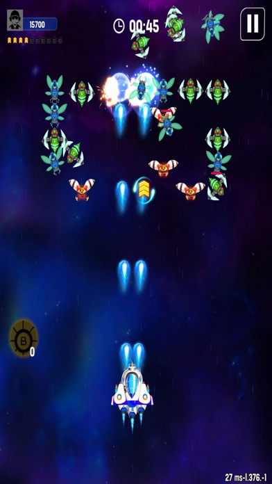 Space Forces: Galaxy Warrior Screenshot on iOS