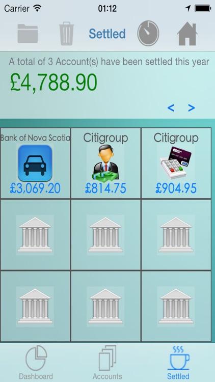 iCreditPit - Debt Management screenshot-3
