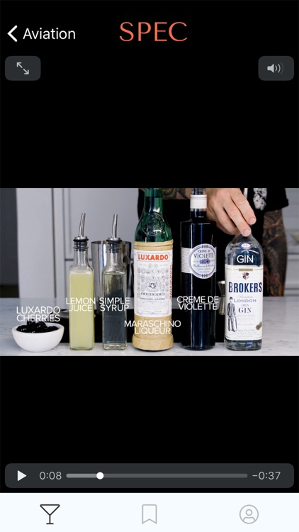 Spec: Craft Cocktail Library screenshot-4