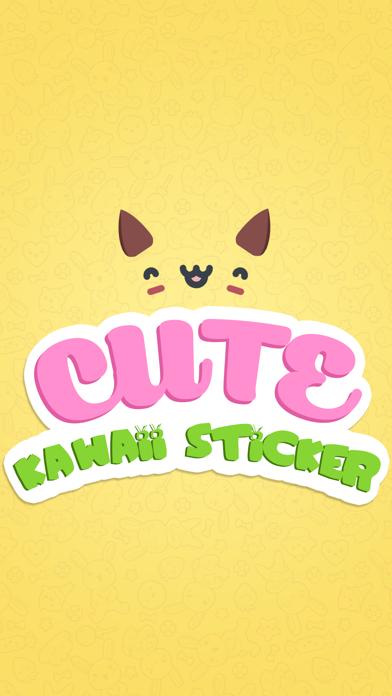 Cute Kawaii Stickers iMessage