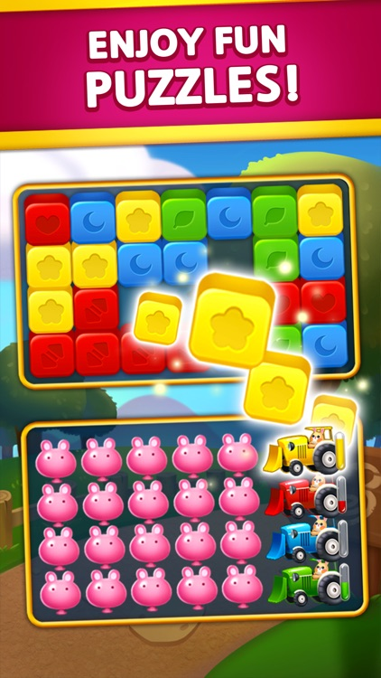 Bunny Blast - Puzzle screenshot-1