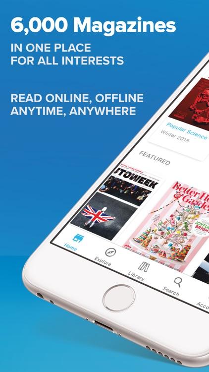 ZINIO - Magazine Newsstand screenshot-0